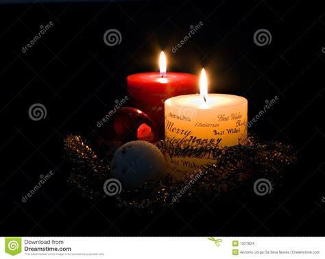 immagini di candele di natale candele di natale immagini stock immagine 1021824
