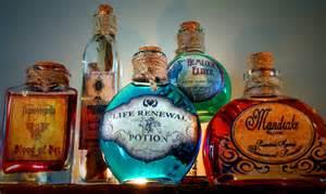 halloween bottle decorations 5 potion bottles halloween decoration prop mandrake by pbleu