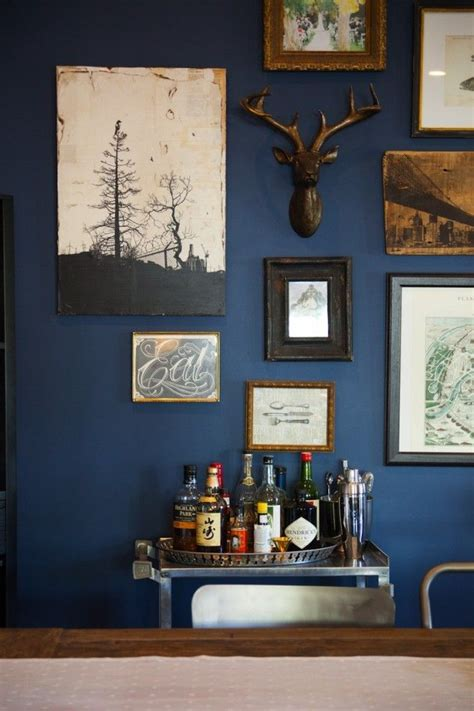 navy blue collagemuseum photo walls frames displays ideas a collection of