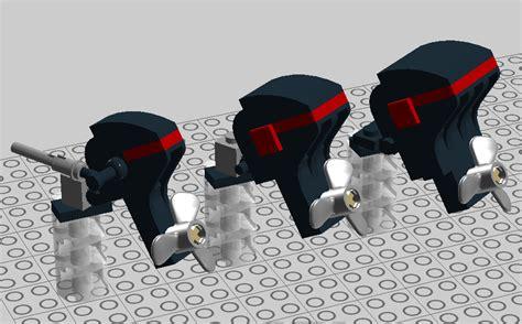 lego boat motor lego ideas realistic outboard motors