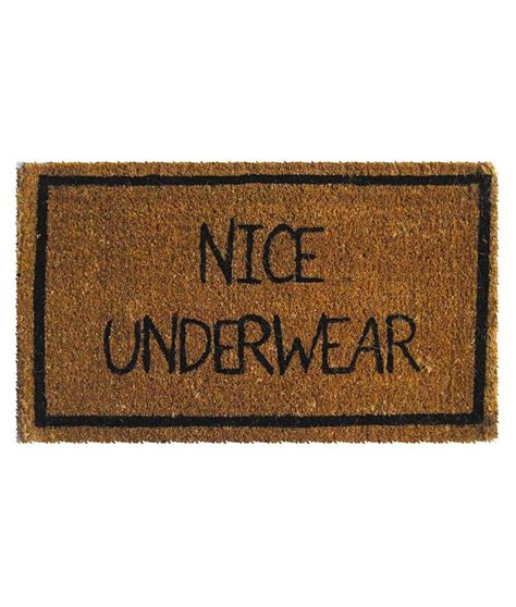 unique doormats nice underwear mat design bookmark 7927