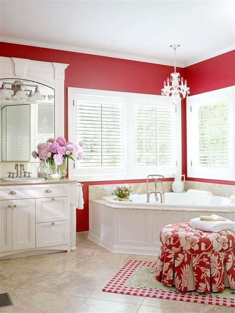 red and white bathroom color ideas for bathroom design
