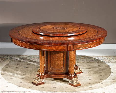lazy susan dining room table dining room table with lazy susan images