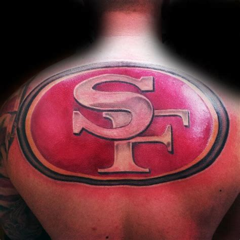 50 san francisco 49ers tattoos for men football design ideas