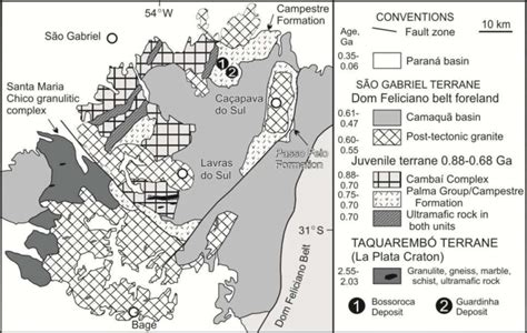 Regional Geology Modify By Hartmann Et Al 2008 And
