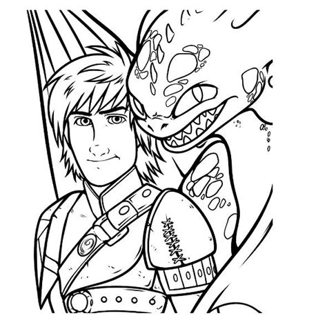 Coloring Pages Dragon 2 | kids n fun com 7 coloring pages of how to train your