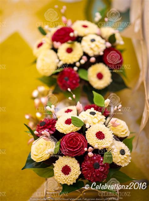 Flowers For Mother S Day Cupcake Dubai Flower Cupcake Bouquet Sweet