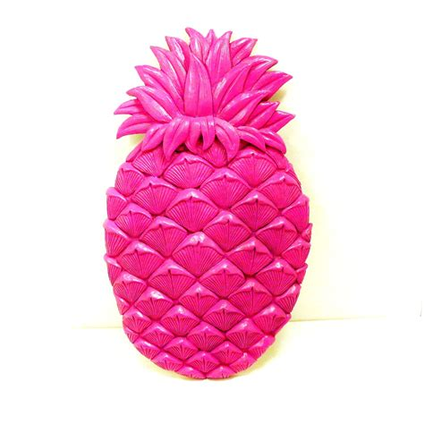 pineapple wall decor neon home decor retro fruit pop by
