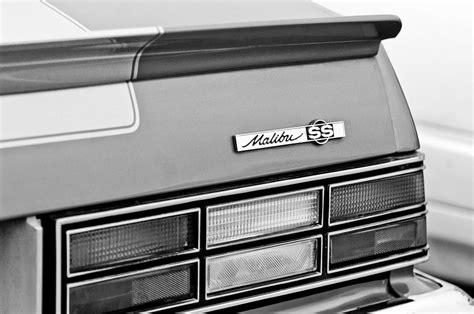 chevy malibu emblem 1980 chevrolet malibu ss taillight emblem photograph by
