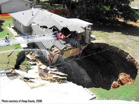 Where Are The Sink Holes In Florida by Sinkhole Swallows Florida