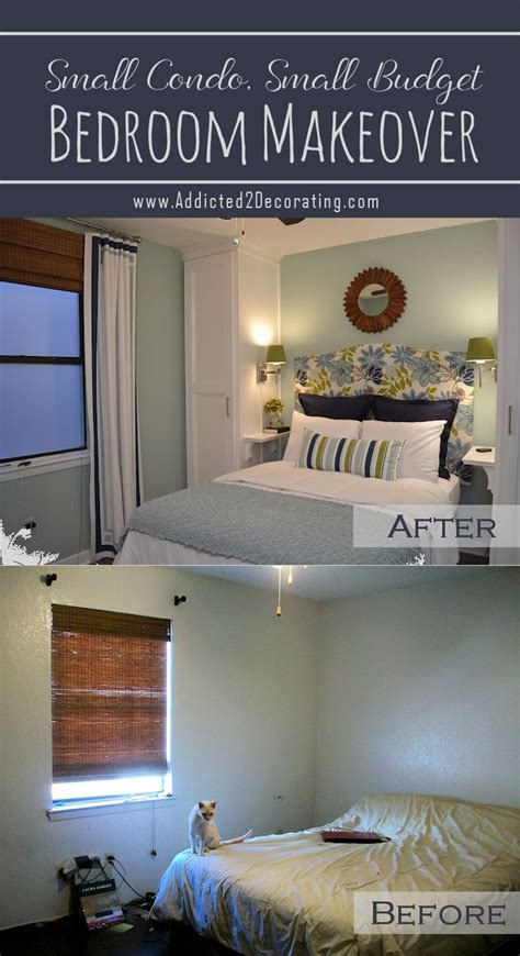 small condo budget bedroom makeover before after best