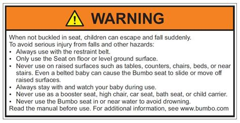 garage door warning label stock bumbo recalls baby seats for the second time san francisco injury lawyer august 21 2012