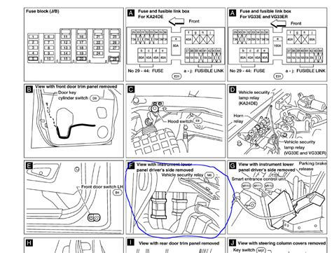 wiring diagram additionally nissan pathfinder starter relay location wiring get free image