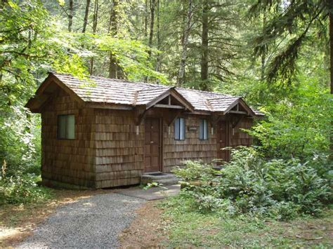 Silver Falls Cabins by Oregon State Parks And Recreation Department Silver Falls
