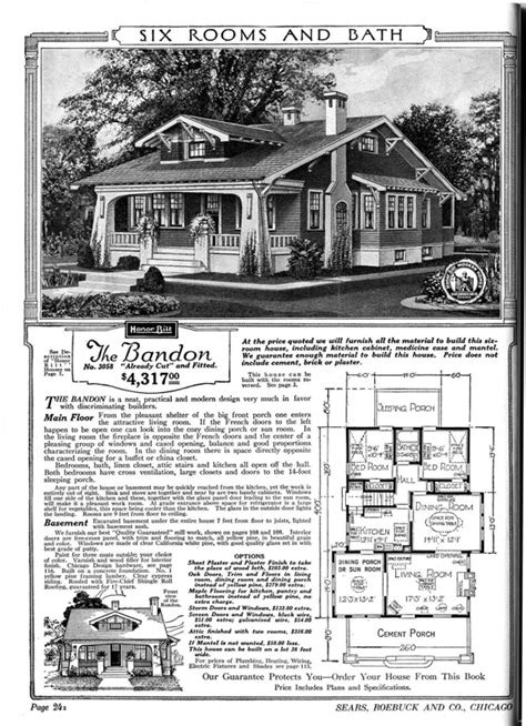 Aladdin Homes Floor Plans by Sears Roebuck Sold 70 000 Homes In The First Half Of The