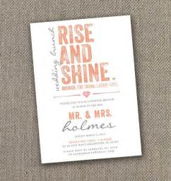 wedding brunch invitation wording day after fabulous breakfast and brunch wedding ideas for the early birds modwedding
