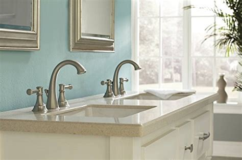moen ashville bathroom faucet moen 84778msrn ashville widespread 2 handle bathroom
