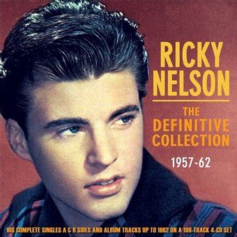 ricky the rock that couldn t roll books ricky nelson the definitive collection 1957 62 4 cd