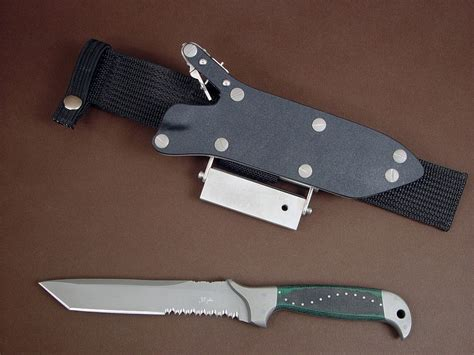 Handmade Tactical Knives - quot pjlt quot handmade custom csar tactical knife by fisher