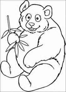 panda coloring