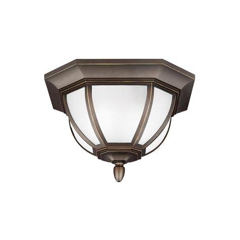 vintage flush mount lighting hton bay 360 degree square 4 light white motion sensing