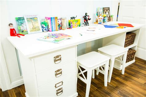 kid craft tables diy craft table home family hallmark channel