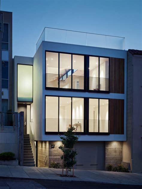 tre casa planos de casa de tres pisos dise 241 o moderno