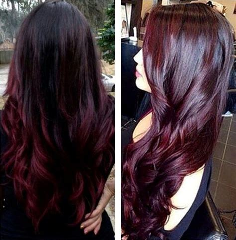 cherry hair color 1000 ideas about black cherry hair color on