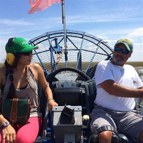 airboat driver everglades airboat rides tours fort lauderdale ride
