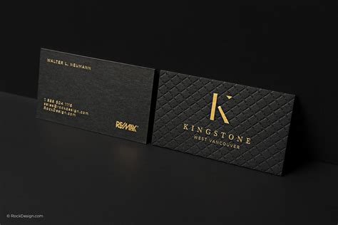 black and gold business cards template realtor black visit card template rockdesign