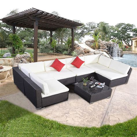 outdoor wicker sectional furniture wicker sectional outdoor furniture trends and u shaped