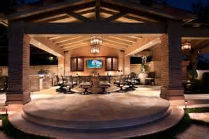 outdoor entertainment area creating a focal point in your outdoor space