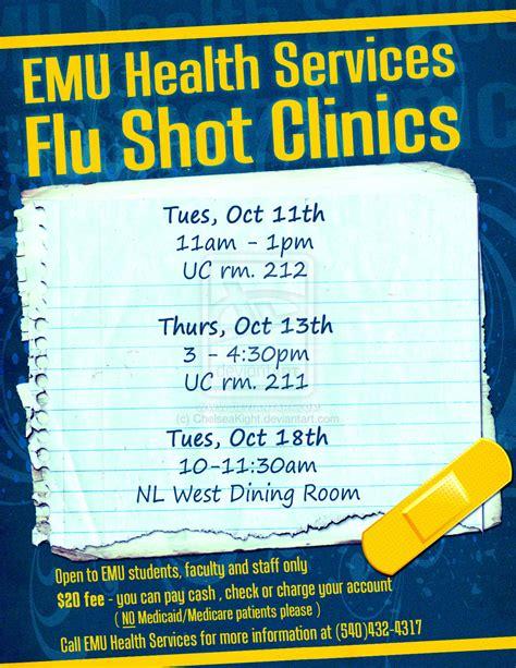 flu template flu clinics poster by chelseakight on deviantart