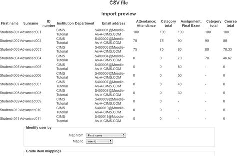 csv format moodle moodle in english import csv file does not work