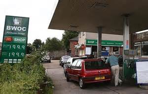 drivers charged up to 163 2 a litre as petrol station bosses