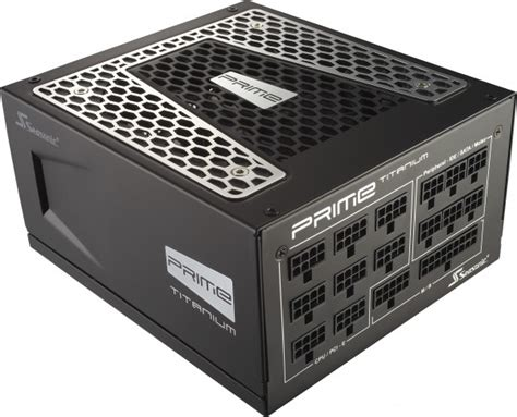 Seasonic Prime Ultra Platinum 1000pd 1000w Modular 80 Platinum seasonic announces prime series titanium power supplies
