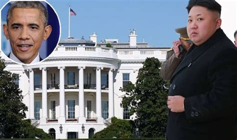 kim jong un house north korea threaten to blow up white house during sabre rattling attack on us over