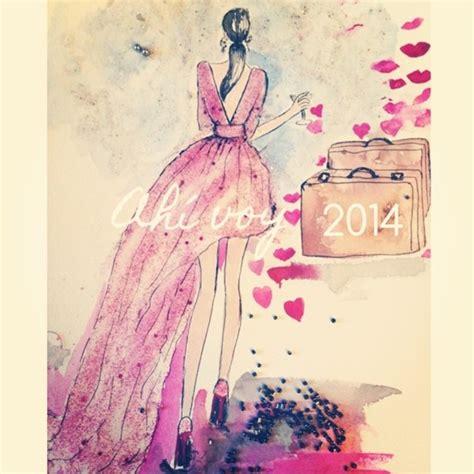 fashion illustration happy new year happy new year 2014 here i go datorre