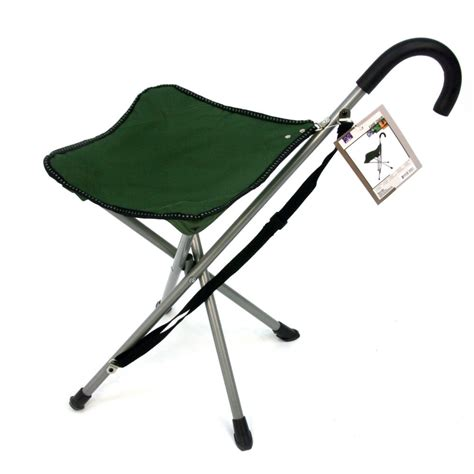 walking stick with seat folding chair walking stick with attached stool
