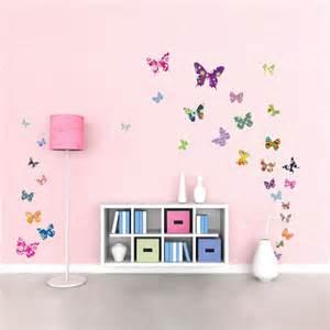 farfalle adesive per decorare le pareti della cameretta fairy wall decals australia c wall decal