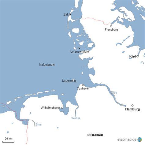 deutsches büro grüne karte hamburg nordsee deutsche bucht mgrebe landkarte f 252 r