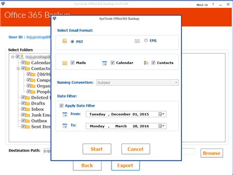 Office 365 Outlook Backup How To Backup Office 365 Mailbox To Outlook Pst