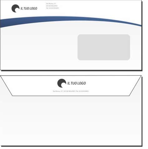 buste per lettere personalizzate buste da lettera 11x22 con finestra modello 2