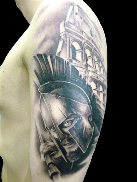 tattoo on gladiators arm cool gladiator arm tattoo tattoomagz