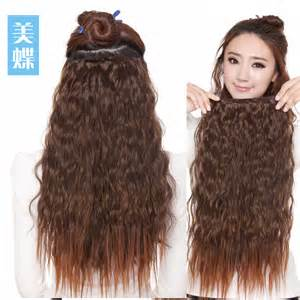 curly clip in hair extensions wavy clip in extensions hairstyles