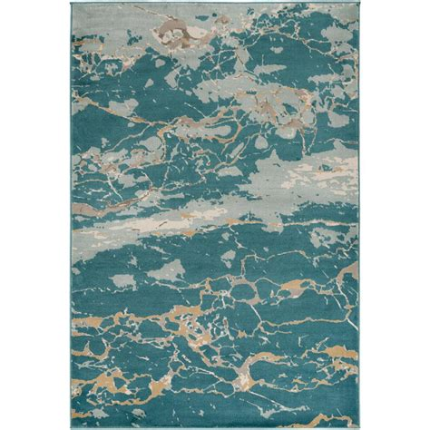 10 Ft By 7 Ft Rugs - nuloom vintage lindy aqua 7 ft 10 in x 10 ft 10 in