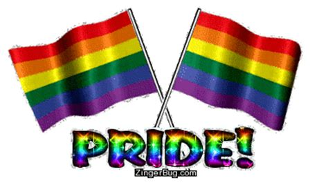 gay boat flags waving crossed gay pride flags glitter graphic greeting
