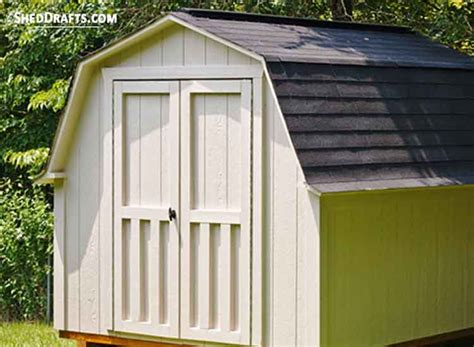gambrel roof shed plans blueprints  crafting