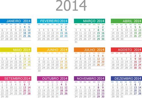 Calendario L 2014 Base De Calend 225 2014 Png Colorido Calend 225 Rios Gr 225 Tis