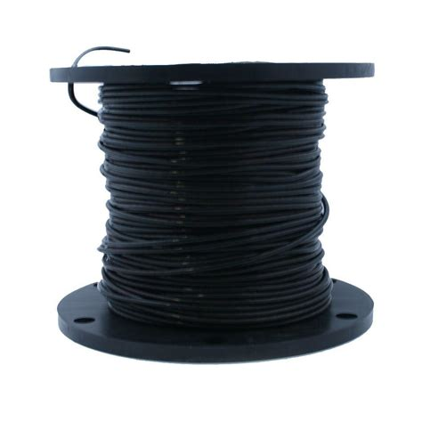 cerrowire 500 ft 8 black stranded xhhw 2 wire 117